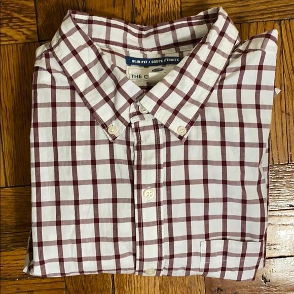 NWT Old Navy men's checkered button down shirt